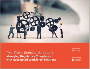 Real Risks, Sensible Solutions Whitepaper